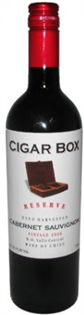 Cigar Box Cabernet Sauvignon Reserve 2015 750ml - Case of 12